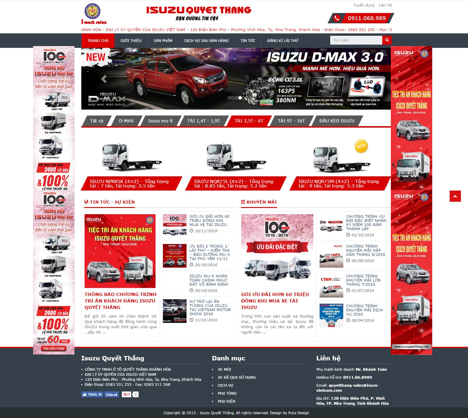 Dự án thiết kế web nha trang