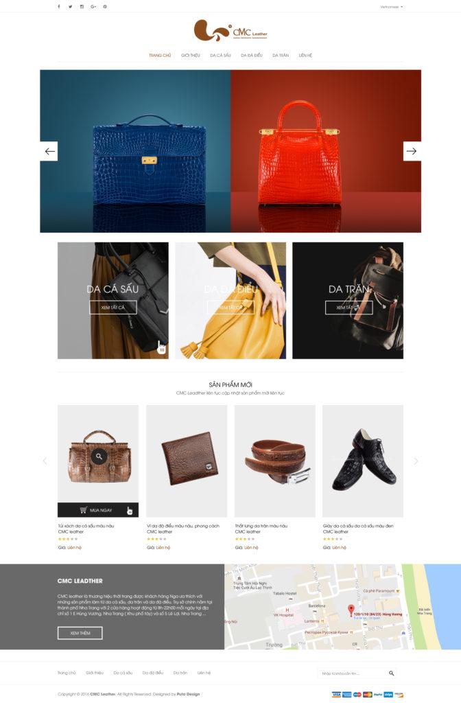 Thiết kế web bán hàng chuyên nghiệp tại Nha Trang