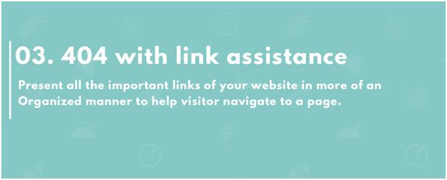 404 - Hỗ trợ liên kết