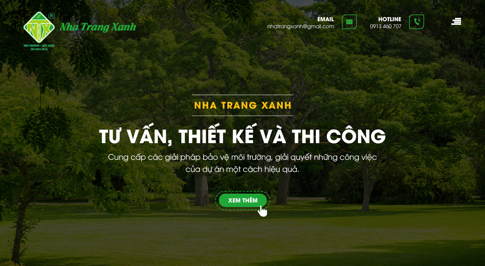Thiết kế website Nha Trang | PutaDesign | Nha Trang Xanh