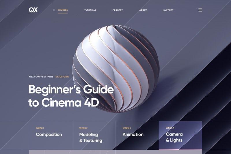 8 Xu hướng thiết kế web sáng tạo trong năm 2020