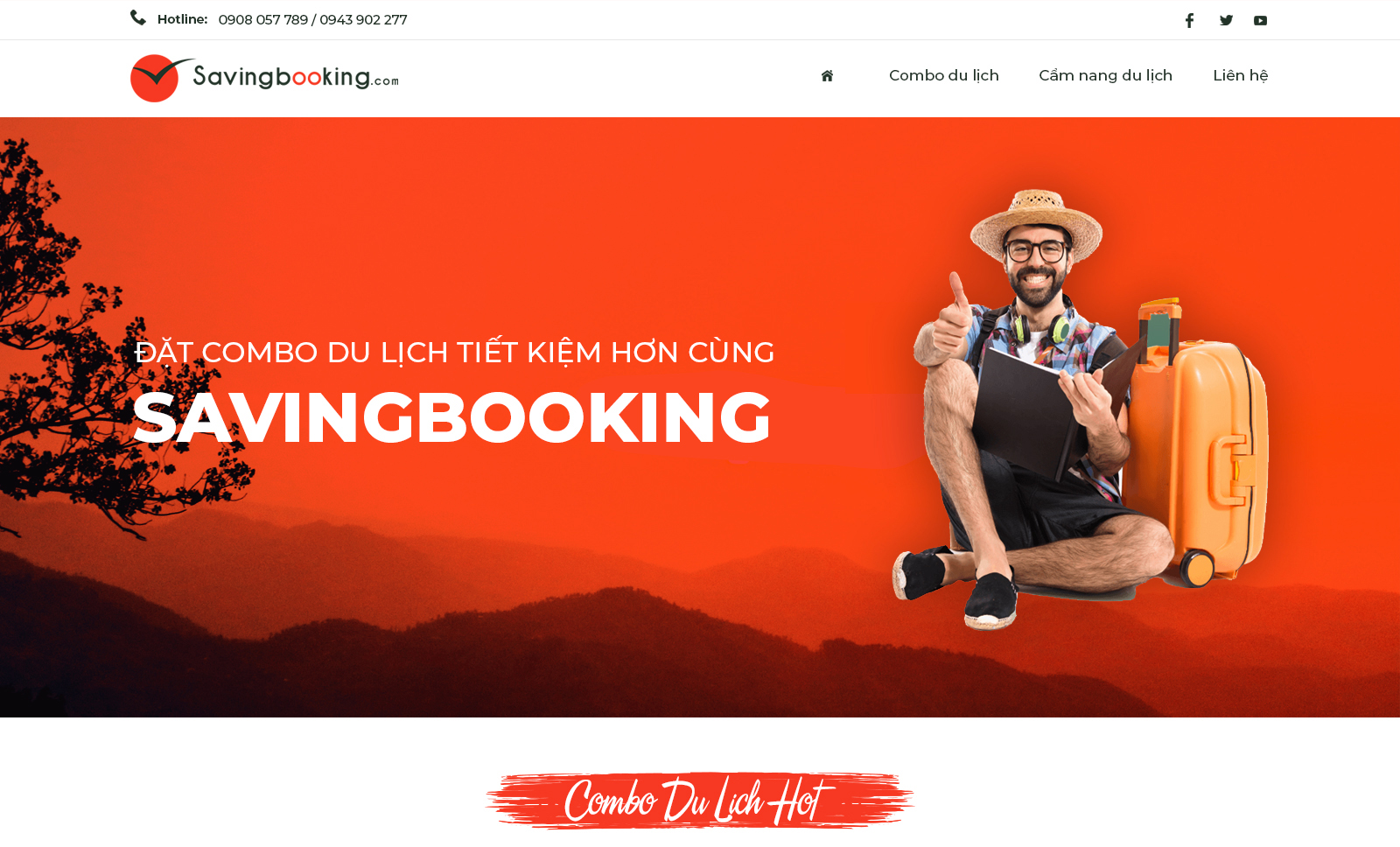 Thiết kế web Nha Trang | PutaDesign | Savingbooking